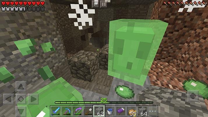初の本格的洞窟探検でダイヤモンドGET!!|#5 おじクラ - マインクラフトPE