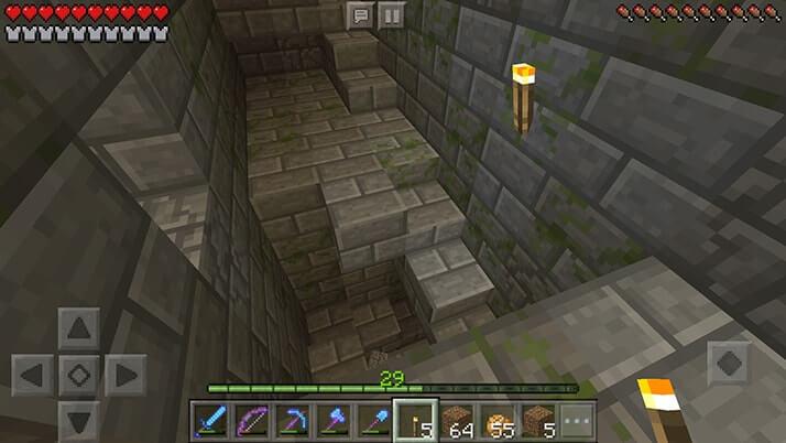 エンドポータルを探して地下要塞を探検!|#53 おじクラ - マインクラフトPE