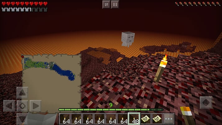 メサと拠点村を繋ぐネザー鉄道を作るため…廃坑でレール集め!|#98 おじクラ - マインクラフト(BE)